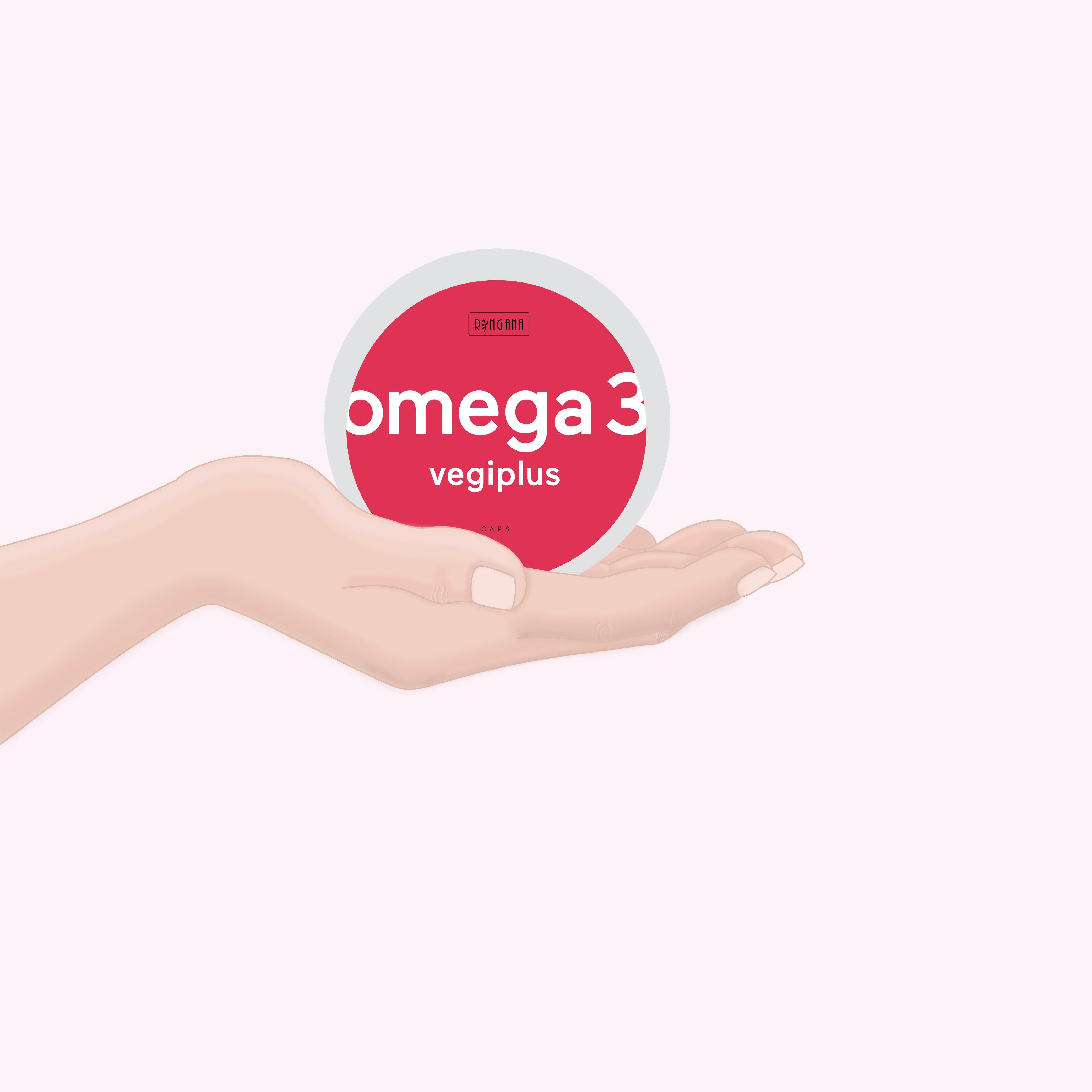 CAPS omega 3 vegiplus